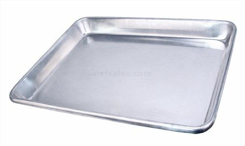 New Star Extra Heavy 12 Gauge Aluminum Sheet Pan Bun Pan Open Bead 18x26x2 Full Size Set Of 24 See This Great Prod Sheet Pan Bakeware Set How To Clean Rust