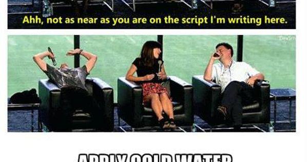 I still like Matt's reaction. :)