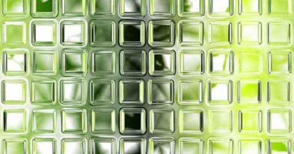 Seamless Green Glass Tiles Texture Background Kitchen Or