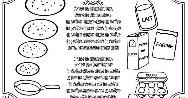 Comptine la chandeleur illustr e par nounoudunord for Par la fenetre ouverte comptine