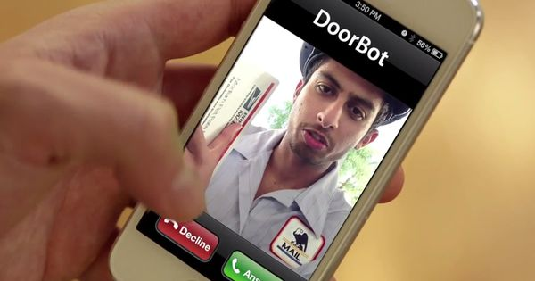 doorbot video feed, I want this! I'm not so sure I'd want