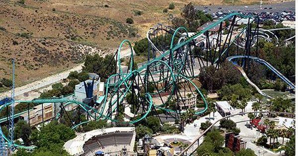 Riddler S Revenge At Six Flags Magic Mountain Roller Coaster Trip Universal Parks