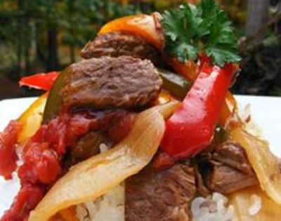 Slow Cooker Pepper Steak recipe image Rated: rating Submitted By: MJWAGNER68 Photo