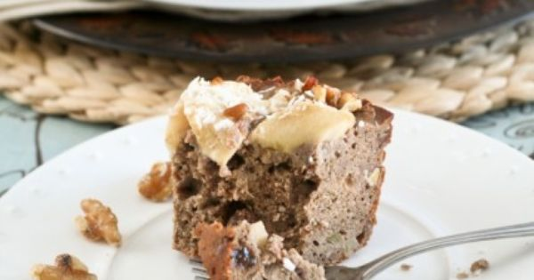 Totally Healthy, Vegan and Grain Free Buckwheat Apple Ring Cake ...