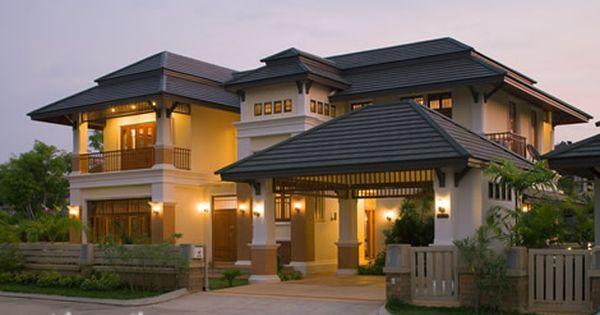 Asian Fusion Homes Asian Fusion Houses Home Design Asian Fusion Home Design Photos Housing Fachadas De Casas Campestres Disenos De Casas Arquitectura Casas