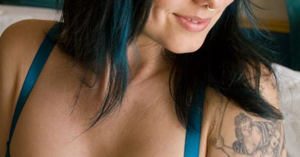 Suicide girls blue hair slut cum swallow