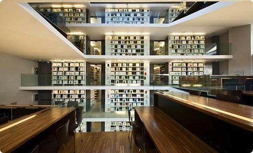 世界上最美的25間大學圖書館 Best Interior Design Websites Modern