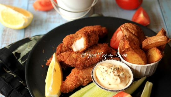Resep Kue Bangkit Jtt: Resep Super Crispy Fish And Chips A La JTT