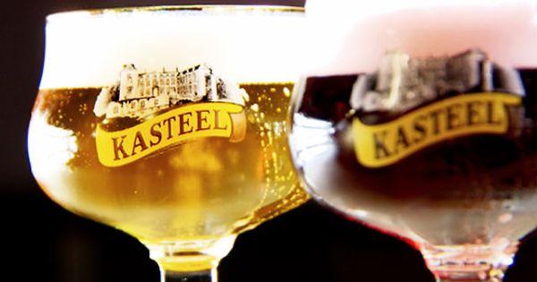Kasteelbier Blond And Rouge Beer Belgianbeer Belgian Ale Belgian Beer Specialty Beer