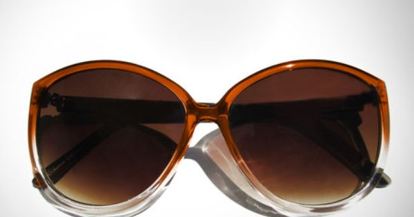 Clementine Oversized Sunglasses / L'Noir cute!