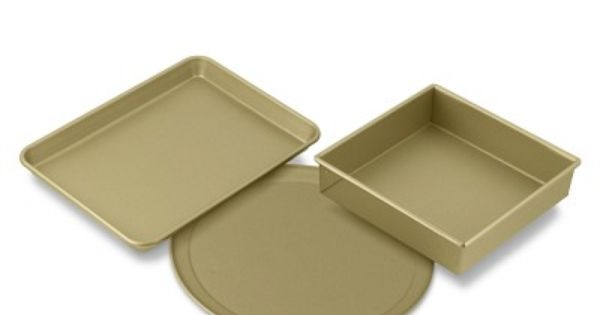 Williams Sonoma Goldtouch Nonstick Toaster Oven Bakeware Set For