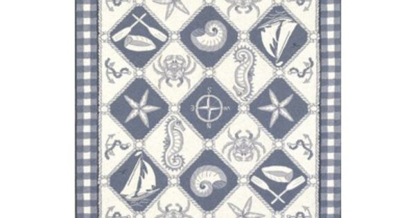 nautical rug | Nautical ocean view~ | Pinterest | Nautical ...