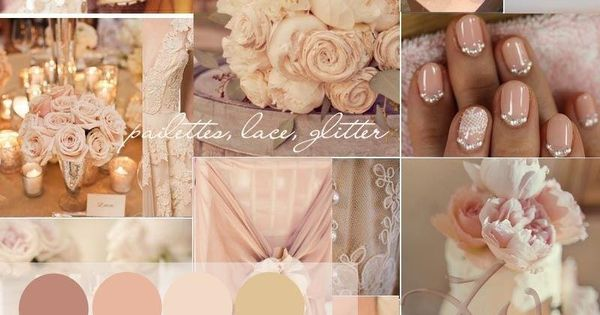 Blush pink and gold wedding decor... Wedding ideas for brides, grooms, parents