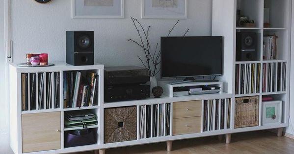 das ist mal ein richtig sch ner kallax pimp wow die gelungene kombinationen aus drei. Black Bedroom Furniture Sets. Home Design Ideas