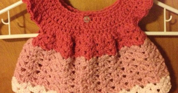 Crochet infant top. The picture doesnt show how cute this really is ...