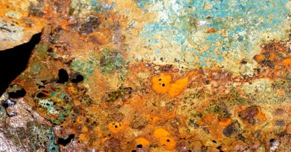 rust colored pattern in-#33