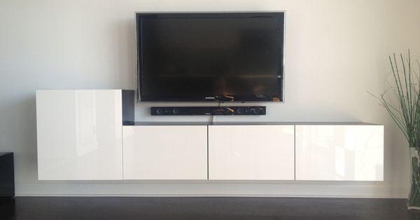 album 5 banc tv besta ikea r alisations clients s rie 2 home salon pinterest ikea. Black Bedroom Furniture Sets. Home Design Ideas