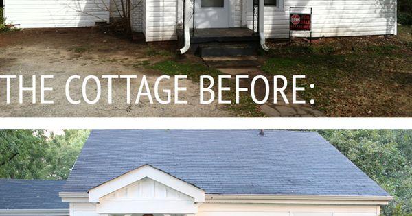 Cottage exterior makeover