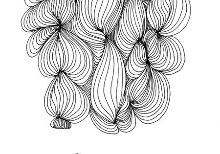 These pen & ink drawings by New York based artist/illustrator Virginia Kraljevic