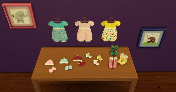 Sims 4 Cc S The Best Baby Deco By Leo Sims Sims 4 Cc