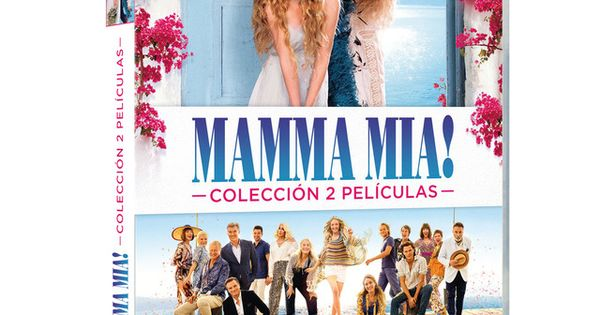 Universal Pack Mamma Mia Películas 1 2 Dvd En 2020 Mamma Mia Dvd Peliculas