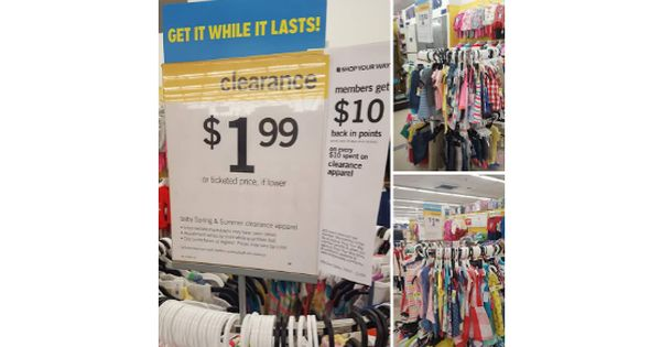 Kmart Free Kids And Baby Clothes Summer Apparel Free Kids