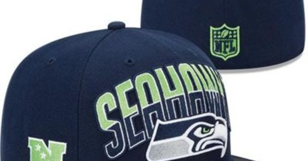 New Era Seattle Seahawks 2013 Nfl Draft 59fifty Fitted Hat College Navy Blue Seattle Seahawks Clothing Seahawks Outfits 59fifty Hats