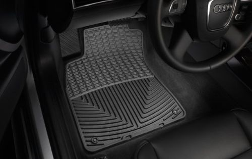Weathertech W296 Black Front Rubber Mats For 13 17 Mercedes Benz Glk Class Rubber Floor Mats Rubber Flooring Floor Mats