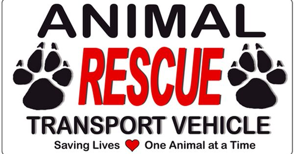 Animal Rescue Transport Car Magnet 9 X 5 Wnt Pet Supplies Rescue Quotes Rescue Dog Quotes Animal Rescue