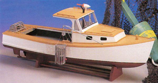 MAINE LOBSTER BOAT Wood Model Boat Kit MW991 $89.99 ...