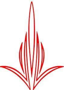 Image Result For Simple Pinstripe Designs Pinstripe Art Pinstriping Designs Striped Art