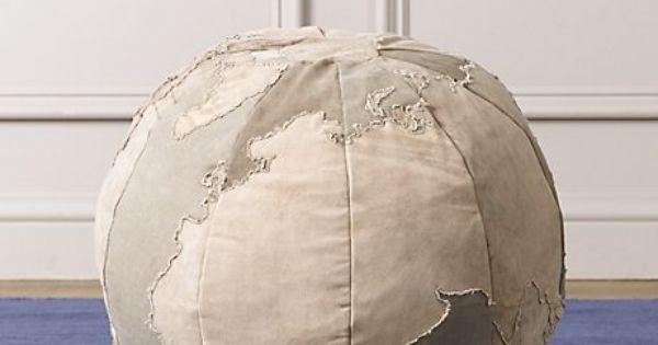 Globe ottoman