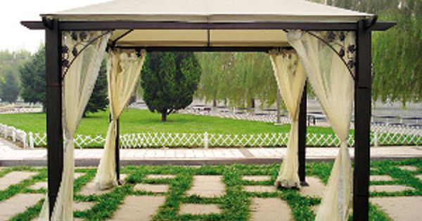 Pacific Bay Trellis Gazebo Replacement Canopy