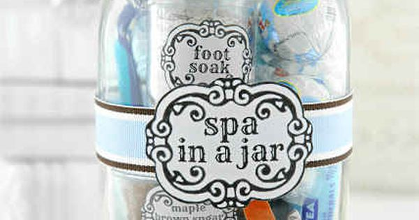 And A Spa In A Jar Is Essentially A Perfect Diy Crafts At Repinned Net