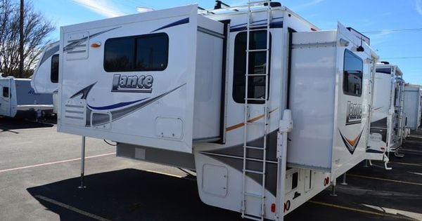 Lance 1172 Double Slide Truck Camper Camping With The