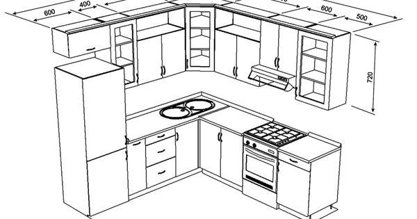 Pin de en pinterest cocinas planos y for Planos de cocina americana