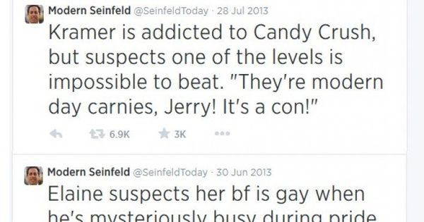 15 Seinfeld Episode Ideas If It Was Still On Air Today 8 Is Perfect Seinfeld Episodes Seinfeld Twitter Funny