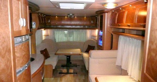hobby caravan interior large vintage glamper wannabe pinterest camper interior. Black Bedroom Furniture Sets. Home Design Ideas