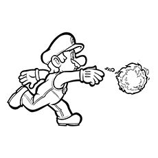 Top 20 Free Printable Super Mario Coloring Pages Online Super