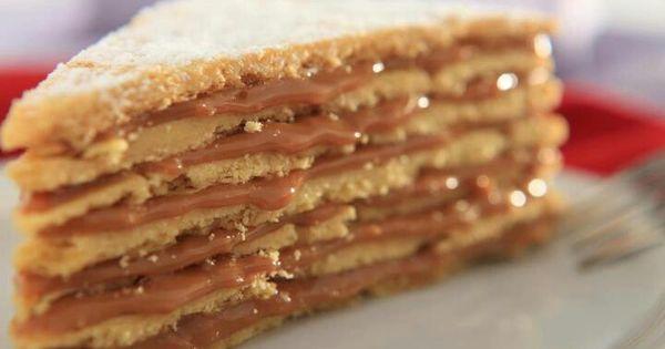 Torta chilena de azafran chilean torte with dulce de for Azafran cuban cuisine