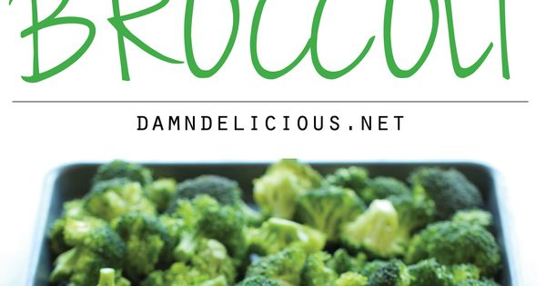 Garlic Parmesan Roasted Broccoli - This comes together so quickly with just