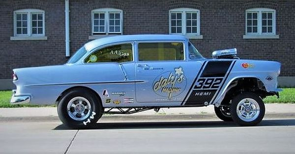 1955 Chevy Gasser 1955 Chevy Drag Racing Cars Chevy