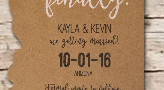 Wedding Invitations Az: Destination Wedding