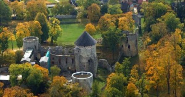 Cesis Castle Latvia Latvia Estonia Travel