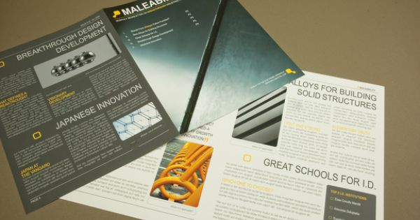 Modern industrial design newsletter template an for Industrial design firms