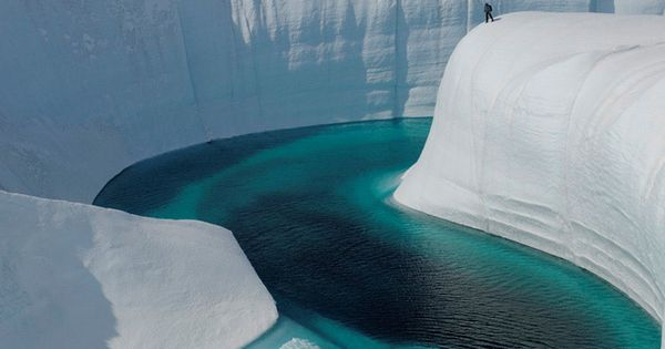 Greenland, Ice Canyon travel vacation dream places spots