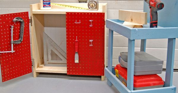 How to Create an Easy Kids' Workbench in Easy DIY Projects From