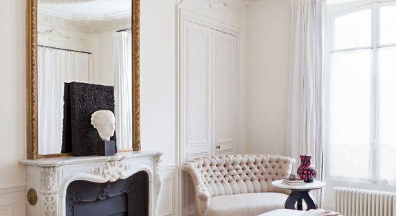 chez les d corateurs gilles boissier appartements parisiens gilles et j r me. Black Bedroom Furniture Sets. Home Design Ideas