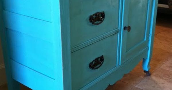 I love using old and making them new... Bathroom sink? Bedroom dresser?