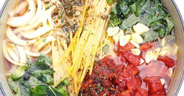 One Pot Wonder Tomato Basil Pasta